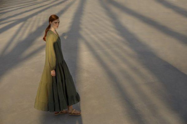Vestido Chirsty oliva