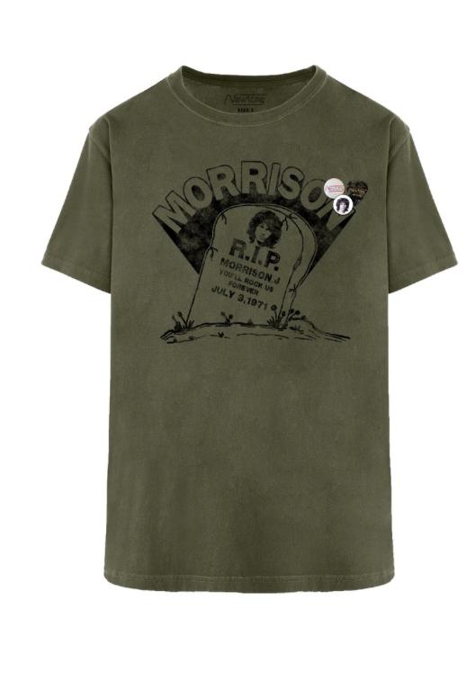 Camiseta RIP Morrison