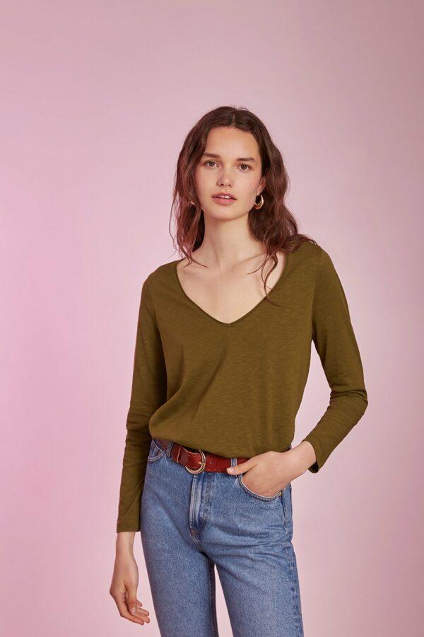 Camiseta Graciane oliva